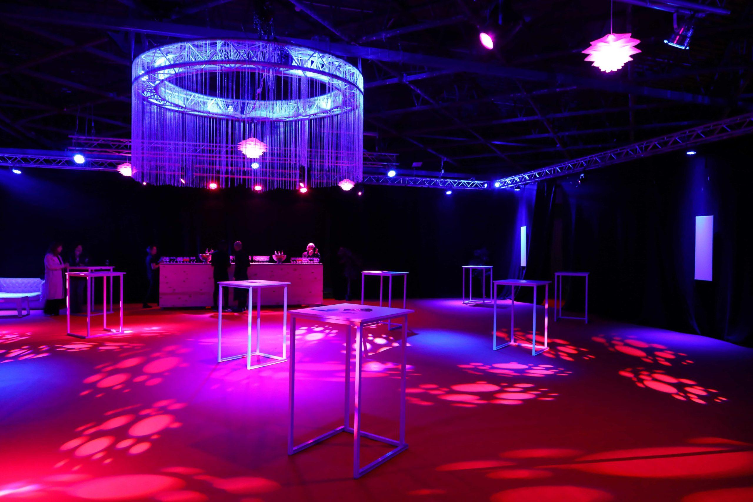 réception VIp ou espace VIP , nous créons un espace sur mesure et luxueux.